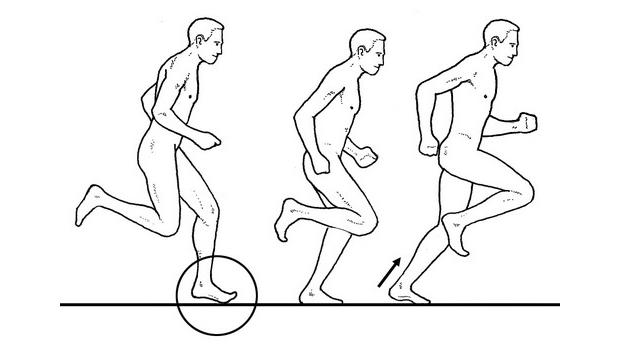 Бег с пятки или с носка